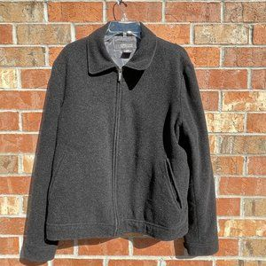 Kenneth Cole Reaction Size Medium Coat Black Gray